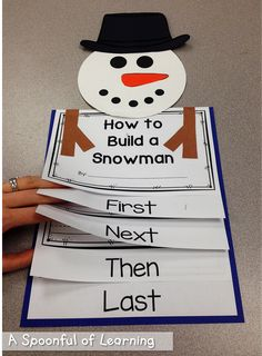 Winter Fun Math and Literacy Activities! - Winter Fun Math and Literacy Activities! Procedural Writing, Teaching Writing, Preschool Writing, Informational Writing, Teaching Ideas, Kindergarten Literacy, Literacy Activities, Winter Art Kindergarten, Kindergarten Christmas