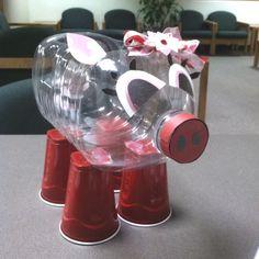 valentine box, valentin box, razorback fan