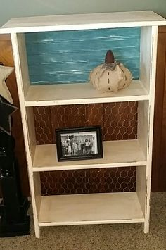 Old wood shelf
