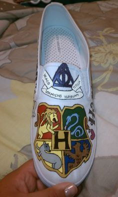 Umm... Harry Potter shoes... YES PLEASE!!!!