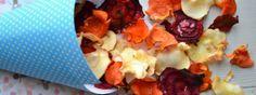 Gezonde snack: Groentechips uit de ovenUit Paulines Keuken