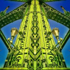 by Luigino Bottega George Washington Bridge, All Poster, Hungary, Budapest, Design Art, Architecture Design, My Arts, Layout, Frame