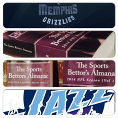 "4/10/15 NBA Sports Bettors Almanac Update: #Memphis #Grizzlies vs #Utah #Jazz (Take: Utah +3,Under 178.5) (THIS IS NOT A SPECIAL PICK ) ""The Sports Bettors Almanac"" SPORTS BETTING ADVICE  On  95% of regular season games ATS including Over/Under   1.) ""The Sports Bettors Almanac"" available at www.Amazon.com  2.) Check for updates   Marlawn Heavenly VII ( SportyNerd@ymail.com )  #NFL #MLB #NHL #NBA #NCAAB #NCAAF #LasVegas #Football #Basketball #Baseball #Hockey #SBA #Boxing #Business…"
