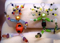 Beaded Wire People