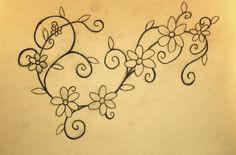 Daisy chain tattoo design by T-Jackification – foot tattoos for women flowers Daisy Chain Tattoo, Daisy Flower Tattoos, Tattoos For Women Flowers, Tattoos With Kids Names, Foot Tattoos For Women, Tattoo Flowers, Floral Tattoos, Vine Tattoos, Ankle Tattoos