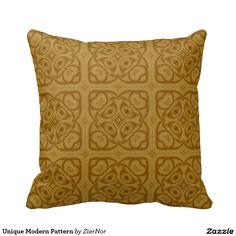 Unique Modern Pattern Pillow