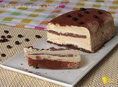 Torta gelato al caffè e biscotti