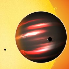 The distant exoplanet TrES-2b by D. Aguilar (CfA)