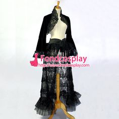 Free Shipping O Dress The Story Of O Jacket Coat Skirt Cosplay Costume Tailor-made