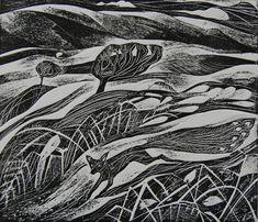 Die Peafox, Originalgraphik von Flora McLachlan,foxnest