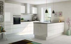 White and wood kitchen ikea modern ideas Kitchen Ikea, Kitchen Corner, Kitchen Layout, Kitchen Colors, Kitchen Interior, New Kitchen, Kitchen Dining, Kitchen Decor, Kitchen Cabinets