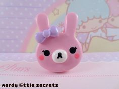 Hey, I found this really awesome Etsy listing at http://www.etsy.com/listing/121755522/fairy-kei-pastel-bunny-ring