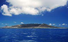 South Pacific, Tonga, New volcanic island (2015) at Hunga area