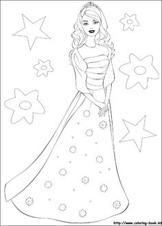 Get The Latest Free Barbie Coloring Pages Images Favorite To Print Online By ONLY COLORING PAGES