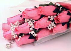 Pink Wax Roses