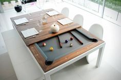 Disguise of the pool table