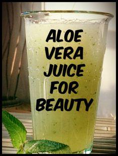 5 Amazing Aloe Vera Juice Remedies for Beauty – Aloe Vera Aloe Vera For Skin, Aloe Vera Skin Care, Aloe Vera Gel, Aloe Vera Juice Recipes, Aloe Vera Juice Drink, Best Beauty Tips, Beauty Tricks, Beauty Secrets, Beauty Care