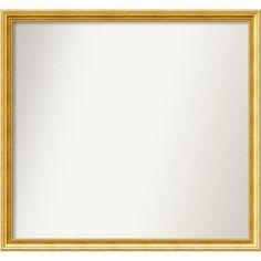 Amanti Art Townhouse Wall Mirror Size:
