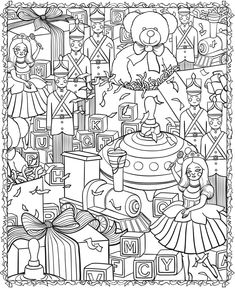 Amazon.com: Christmas Designs Adult Coloring Book (31 stress ...