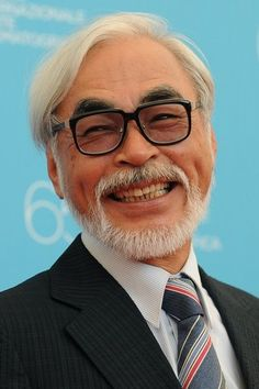 Miyazaki. The godfather of feature-length anime. Yes, I do idolize him, just a little