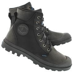 Palladium Men's PAMPA SPORT CUFF black waterproof boots 73234-001