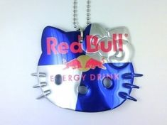 Hello Kitty Soda Can Necklaces - Red Bull