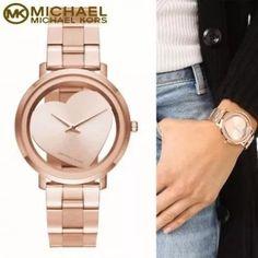 Relógio Michael Kors® – Coração Rose – MK3622 – Réplica Premium AAA+ d122880895
