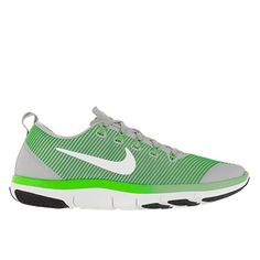 215cd7ca6669c Details about Nike Free Train Versatility Men s size 10 Wolf  Grey White Rage Green Black NEW