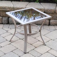 Backyard Creations Grant Park Side Table At Menards