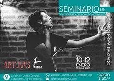 ENE 10 Seminario de Coreografía y Creación de Movimiento