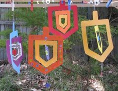 "The design for these fabulous mobiles comes from Sara Rivka at Creative Jewish Mom. She sells an electronic ""kit"" via her Etsy store which I purchased.  The kit allows you to print off coloured dre..."