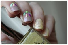 NOTD: Nude, sand and something extra ~ By Dee make-up and more