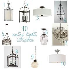 5 entryway light makeover that reminds me of a Pottery Barn lamp