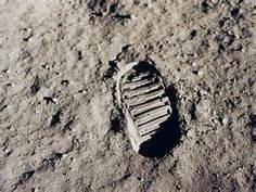 Apollo 11 bootprint  One of the first steps taken on the Moon, this is an image of Buzz Aldrin's bootprint from the Apollo 11 mission. Neil Armstrong and Buzz Aldrin walked on the Moon on July 20, 1969. Photo Credit: NASA