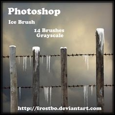 Photoshop Ice Brush Set