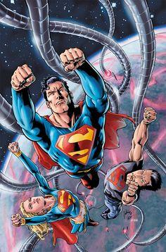 Superman, Supergirl & Superboy - Julian Lopez
