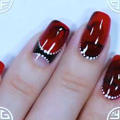 New Amazing Nail design 2019 Christmas Nail Art Designs, Holiday Nail Art, Fall Nail Designs, Beautiful Nail Designs, Beautiful Nail Art, Superhero Nails, Gothic Nail Art, Nail Art For Girls, Nail Art For Beginners