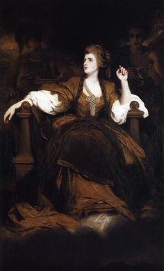 """Sir Joshua Reynolds, """"Sarah Siddons as Tragic Muse"""", 1784  Discover the coolest shows in New York at www.artexperience..."""