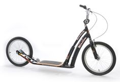 Boardwalk Mission Scooter. UK site lists various models from £80-£230. There is at least 1 distributor in California.