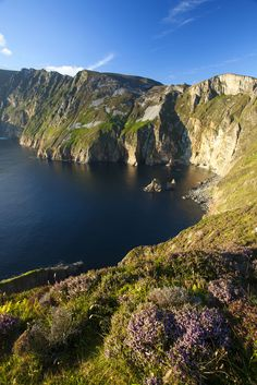 The Slieve League Cliffs are said to be some of the highest and best examples of marine cliffs in Europe. #Ireland