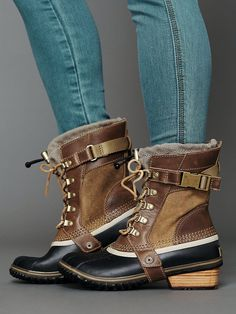 Free People Conquest Weather Boot...weatherproof boots. can't go wrong with that!
