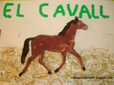 Eideducacioinfantil.blogspot.com. Tapa d'àlbum projecte el cavall.