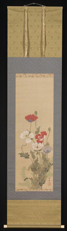 Suzuki Kiitsu - Poppies