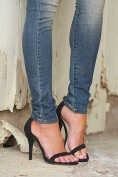 Love Sick Heels - Black