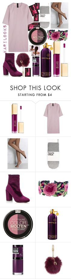 """""Dirty""🌸"" by karilooks ❤ liked on Polyvore featuring Milani, Marni, Rare London, Miss Selfridge, Maybelline, Montale and Etienne Aigner"