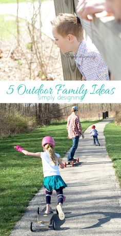5 Outdoor Family Ideas for Summer by Simply Desgining