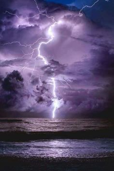 Towering Bolt – Towering Lighting Strikes Just Offshore of Clearwater Beach. Informations About Towering Bolt – Towering Lighting Strikes Just Purple Lightning, Thunder And Lightning, Lightning Storms, Lightning Strikes, Lightning Bolt, Storm Pictures, Nature Pictures, Pictures Of Lightning, Lightning Photography