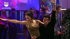 The Routine #Friends Monica & Ross