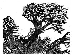 Pen and Ink Art Drawings - Amazing artist, Mike Parsons
