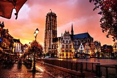 Mechelen, Flanders - the town where Anne Boleyn went to school as a child in the court of Margaret of Austria (from Book IV, The Boleyn Heresy).